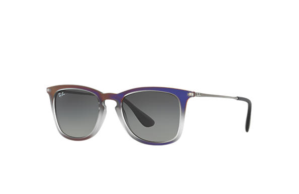 Ray-Ban 0RB4221-RB4221 Fioletowy,Szary; Metaliczny SUN