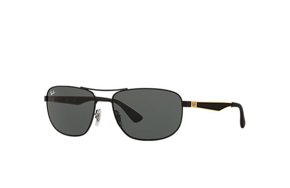 ray ban sunglasses black gold  ray ban 0rb3528 rb3528 black; gold,black sun
