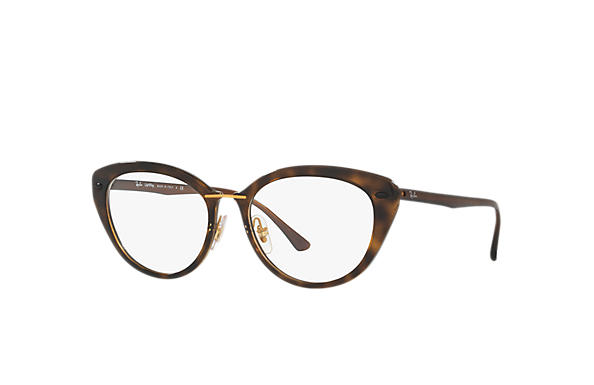 Ray-Ban 0RX7088-RB7088 Tortoise; Brown OPTICAL