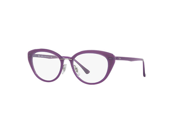 Ray-Ban 0RX7088-RB7088 Fioletowy OPTICAL