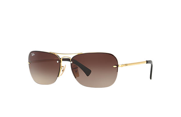 Ray-Ban 0RB3541-RB3541 Gold SUN