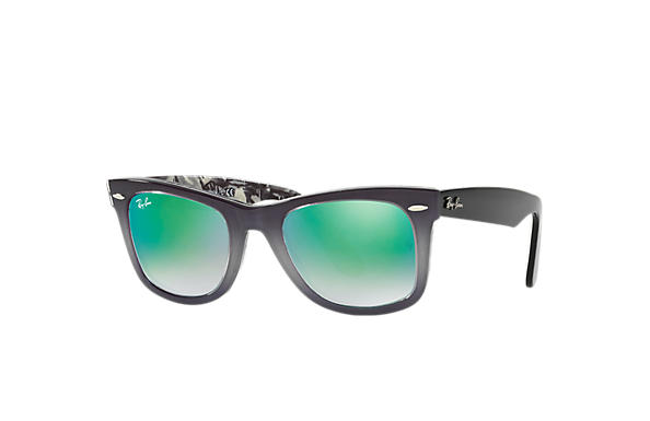 Ray-Ban 0RB2140-ORIGINAL WAYFARER FLORAL Grey,Multicolor; Black,Multicolor SUN