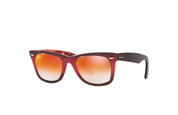 Ray-Ban 0RB2140-ORIGINAL WAYFARER FLORAL Pink,Multicolor; Brown,Multicolor SUN