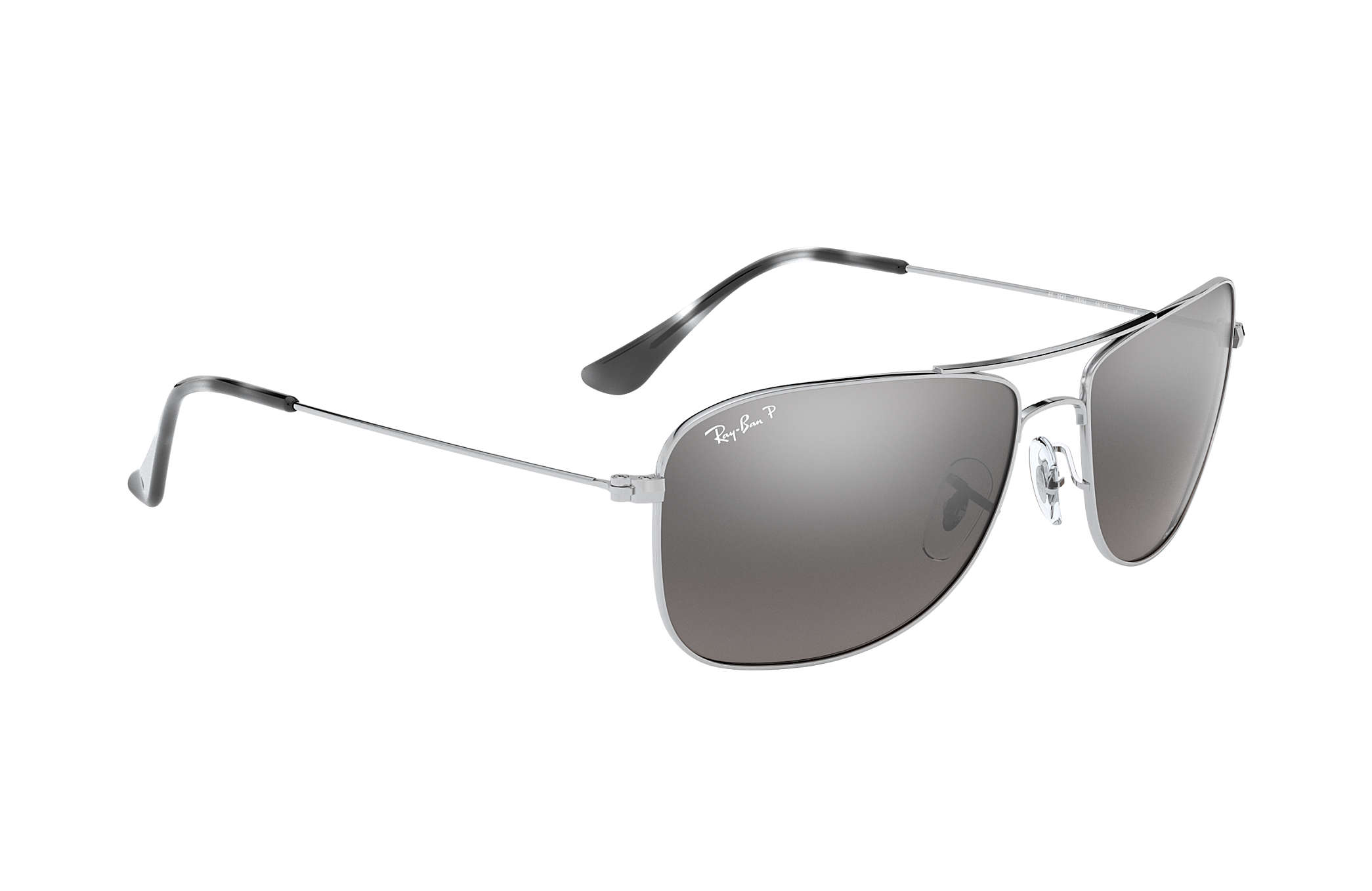 ray ban 3221  Ray-Ban RB3543 en Argent, Verre Argent