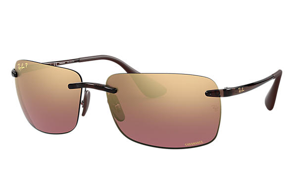 Ray-Ban 0RB4255-RB4255 Chromance Marron SUN