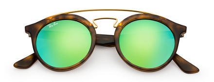 Ray-Ban RB4256 GATSBY I Tortoise with Green Mirror lens