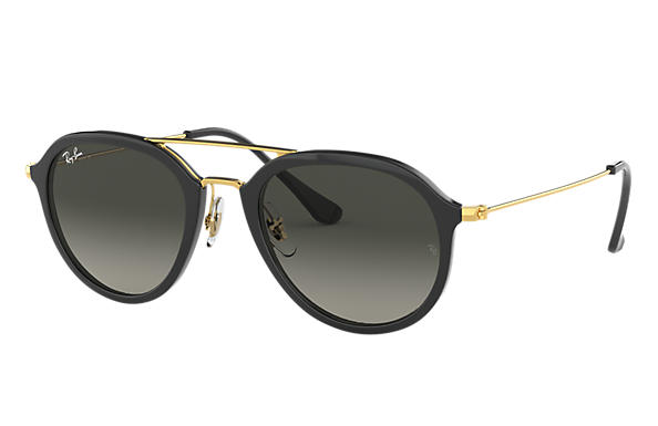 Ray-Ban 0RB4253-RB4253 Negro; Oro SUN