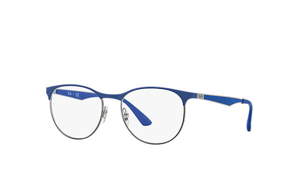 Ray-Ban 0RX6365-RB6365 Bleu,Gun; Gun,Bleu OPTICAL