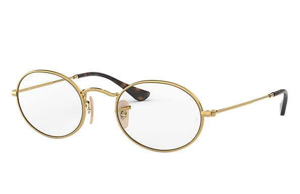 Ray-Ban 0RX3547V-OVAL OPTICS Gold OPTICAL