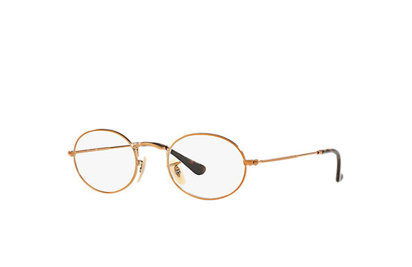 Ray-Ban 0RX3547V-OVAL OPTICS Bronze-Copper OPTICAL
