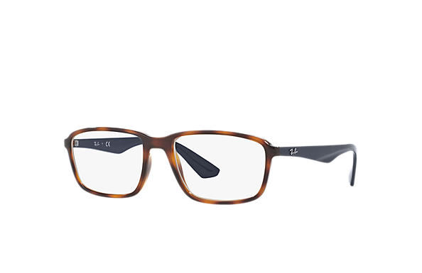 Ray-Ban 0RX7084-RB7084 Tortoise; Blue OPTICAL