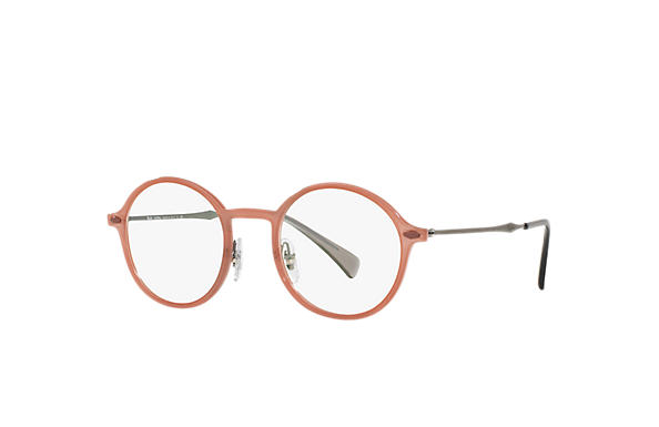 Ray-Ban 0RX7087-RB7087 Marrone; Canna di fucile OPTICAL