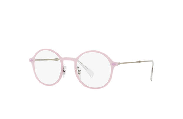 Ray-Ban 0RX7087-RB7087 Rosa; Argento OPTICAL