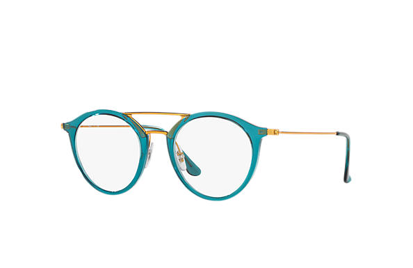 Ray-Ban 0RX7097-RB7097 Bleu; Bronze-cuivre OPTICAL