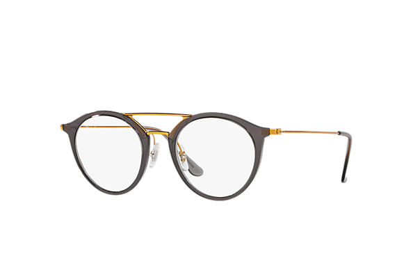 Ray-Ban 0RX7097-RB7097 Gris; Bronze-cuivre OPTICAL