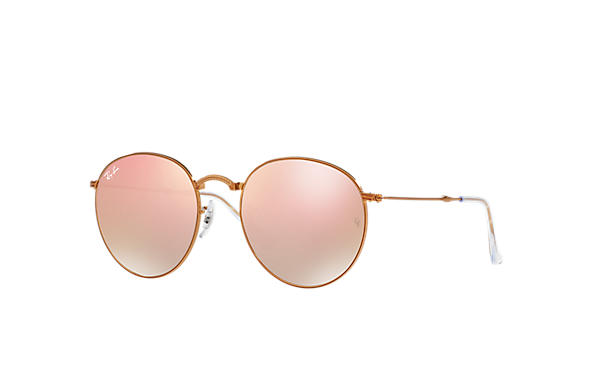 ray ban round sunglasses  Ray-Ban Round Metal Folding Gold, RB3532
