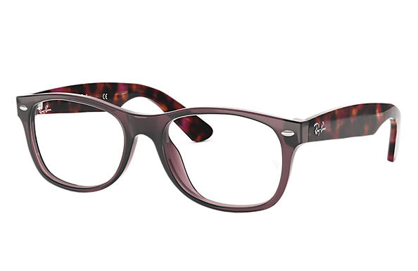 Ray-Ban 0RX5184-New Wayfarer Optics Brown; Tortoise OPTICAL