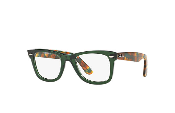 Ray-Ban 0RX5121-Original Wayfarer Optics Green; Tortoise OPTICAL