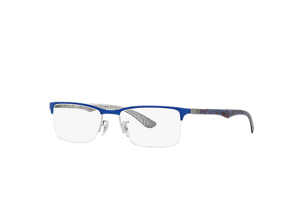 Ray-Ban 0RX8413-RB8413 Niebieski,Szary; Multi,Srebrny OPTICAL