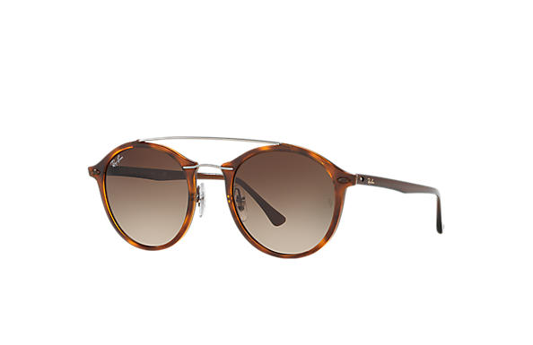 Ray-Ban 0RB4266-RB4266 Tortoise; Brown SUN