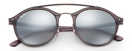 Ray-Ban RB4266 Grey with Grey Gradient Mirror lens