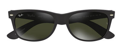Ray-Ban NEW WAYFARER at Collection Black with Silver Mirror lens