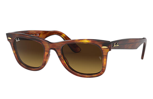 Ray-Ban 0RB2140-ORIGINAL WAYFARER at Collection Tortoise SUN