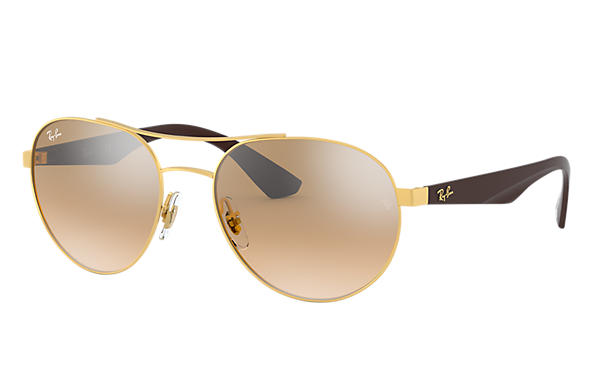 Ray-Ban 0RB3536-RB3536 at COLLECTION Oro; Marrone SUN