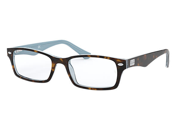 Ray-Ban 0RX5206-RB5206 Tortoise,Light Blue OPTICAL
