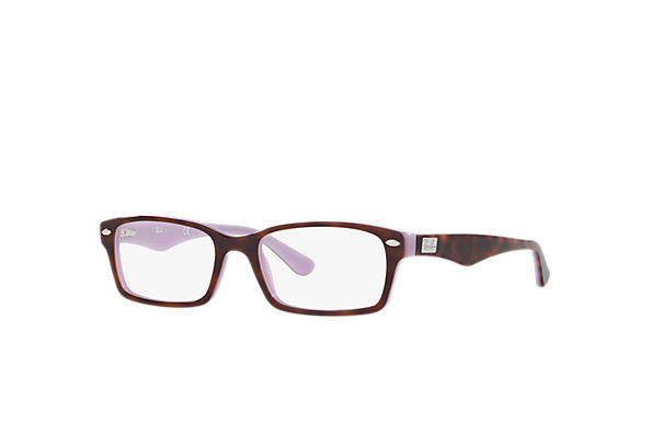 Ray-Ban 0RX5206-RB5206 Szylkret,Fioletowy OPTICAL
