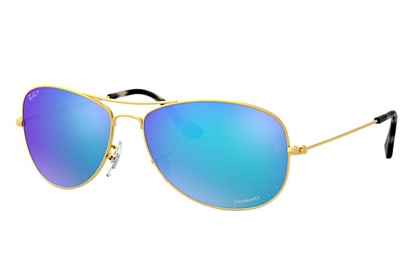Ray-Ban 0RB3562-RB3562 Chromance Gold SUN