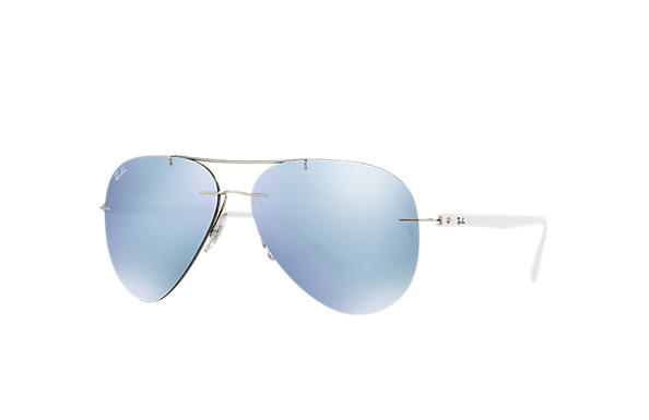 Ray-Ban 0RB8058-RB8058 Silver; White SUN