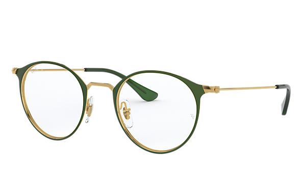 Ray-Ban 0RX6378-RB6378 Green,Gold; Gold OPTICAL