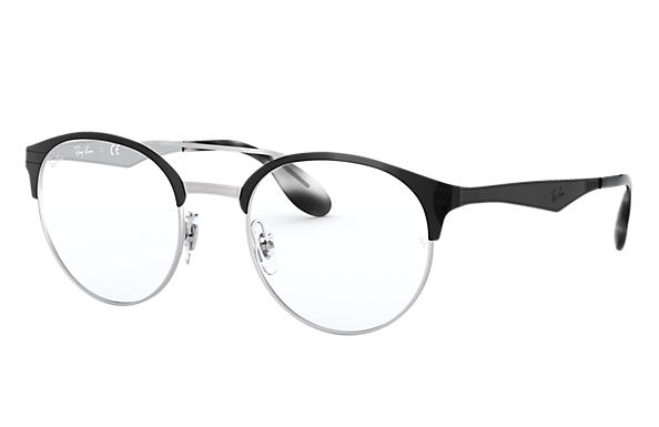 Ray-Ban 0RX3545V-RB3545V Nero,Argento OPTICAL