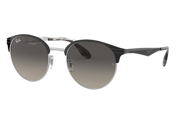 Ray-Ban 0RB3545-RB3545 Nero,Argento SUN