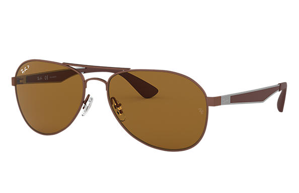 Ray-Ban 0RB3549-RB3549 Brown; Brown,Gunmetal SUN