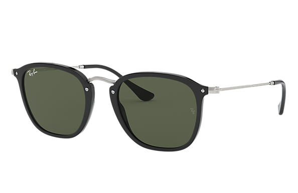 Ray-Ban 0RB2448N-RB2448N Nero; Argento SUN