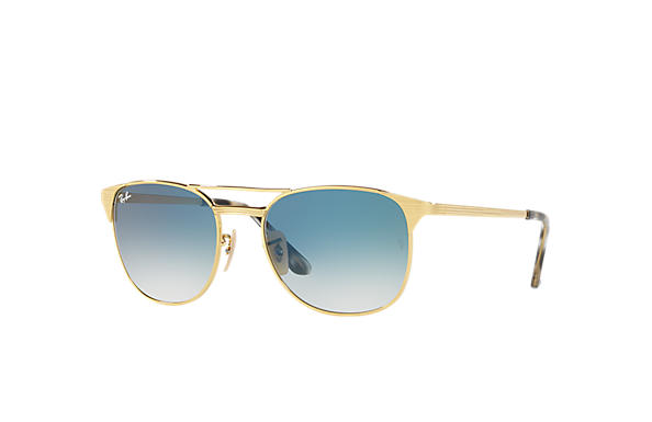 ray ban sunglasses golden  ray ban 0rb3429m signet gold sun