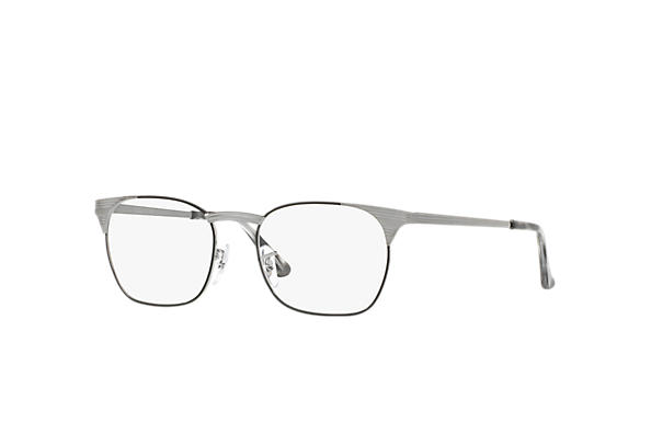 Ray-Ban 0RX6386-SIGNET OPTICS Nero; Canna di fucile OPTICAL