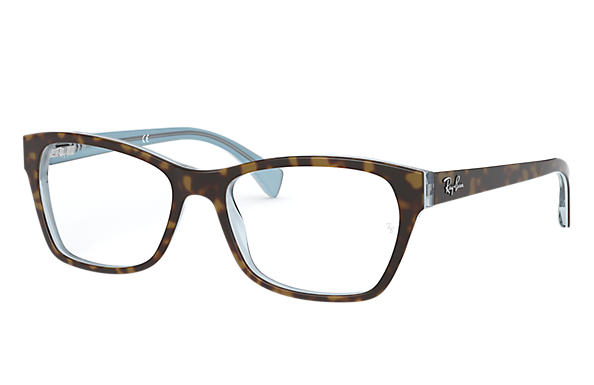 Ray-Ban 0RX5298-RB5298 Szylkret,Multi; Szylkret,Niebieski OPTICAL