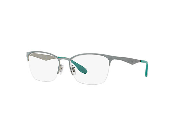 Ray-Ban 0RX6345-RB6345 Green,Silver OPTICAL