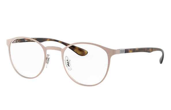Ray-Ban 0RX6355-RB6355 Jasny brąz; Szylkret OPTICAL