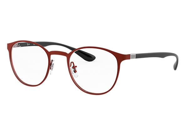 Ray-Ban 0RX6355-RB6355 Bordeaux; Black OPTICAL