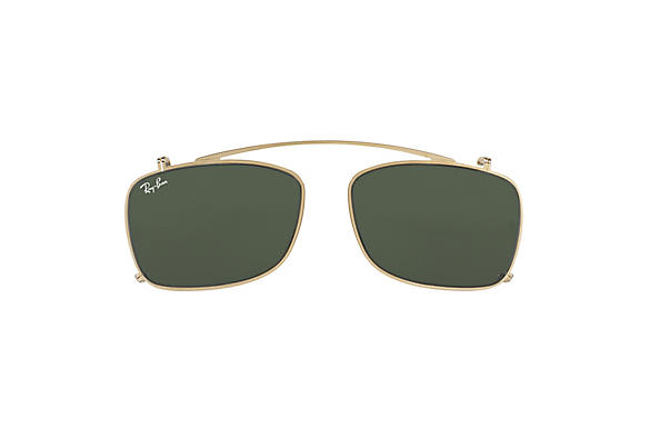 Ray-Ban 0RX5228C-RB5228 Clip-on Gold CASE