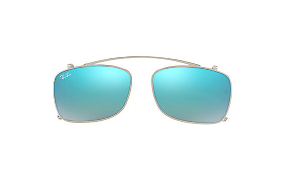 Ray-Ban 0RX5228C-RB5228 Clip-on Srebrny CASE