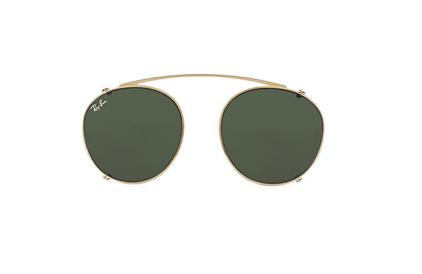 Ray-Ban 0RX2180C-RB2180 CLIP-ON Gold CASE