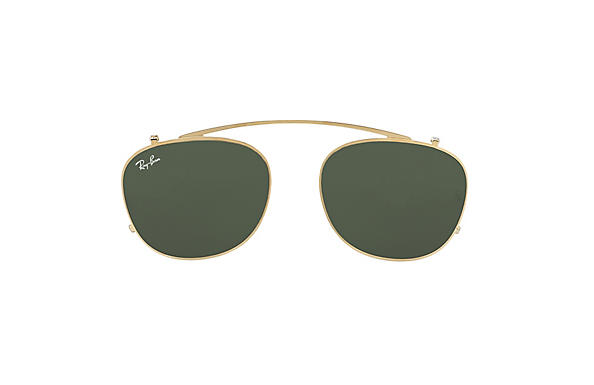 Ray-Ban 0RX6317C-RB6317 Clip-on Gold CASE
