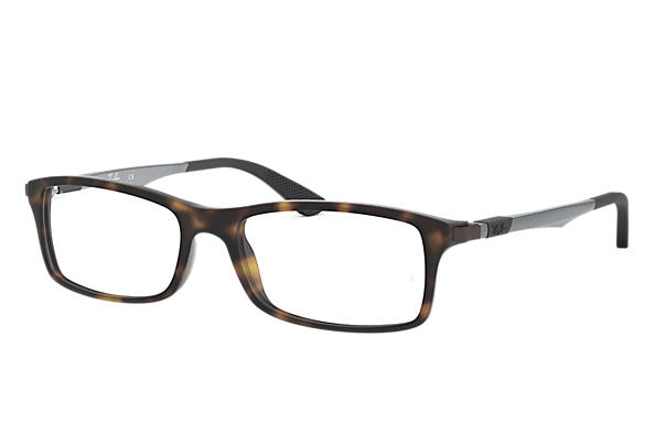Ray-Ban 0RX7017-RB7017 Tartaruga; Canna di fucile OPTICAL