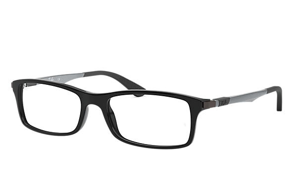 Ray-Ban 0RX7017-RB7017 Metaliczny OPTICAL
