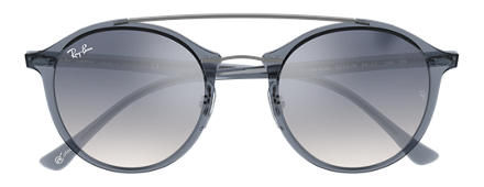 Ray-Ban RB4266 at Collection Blue with Light Blue Gradient lens
